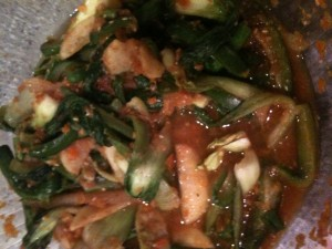 Bok Choy and Cucumber Kimichi inspired by LOLA AND THE BOY NEXT DOOR by Stephanie Perkins