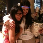 Jenny Han, co-author of BURN FOR  and Rebecca Serle, WHEN YOU WERE MINE