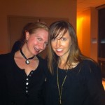 Leanna Renee Hieber, author of DARKER STILL and Stacy from Girls in the Stacks