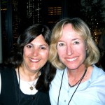 Liza (me!) of WhoRuBlog and Wendy Delsol, author of the STORK series