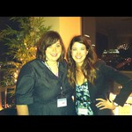 Danielle of a Tangled Up 'N Words and Alexandra Bracken, author of THE DARKEST MINDS