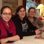 Sasha (avid YA reader), Heidi (YABibliophile.com-MG librarian), Rachel (librarian)