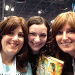 Me and my former student Talia Lakritz (an aspiring writer) and her mom Debbi Lakritz (also an author).