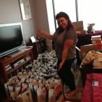 Vania Stoyanova of vlcphoto.net helped reorganize the NOVL tote bags!