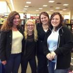 Sarah Weiss, Rachel Kinnard, Jaime Arkin, Erin Arkin