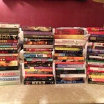 Some of the books donated to the Hmong American Peace Academy