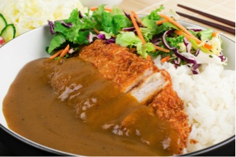For those who need more substance and a little bit of spice, katsu curry is a big hit. The curry is a little sweet and veers more towards the Chinese curry than Indian curry flavors (imagine that). This was one of my faves when I lived in Tokyo.