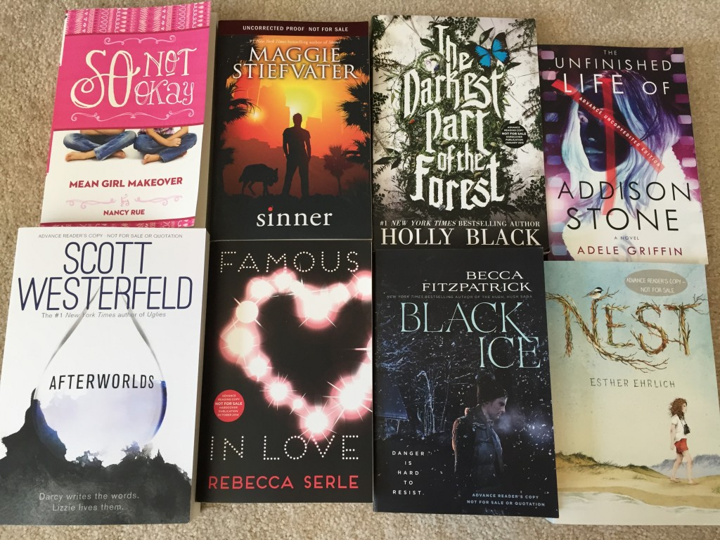 The awesome books you could win!